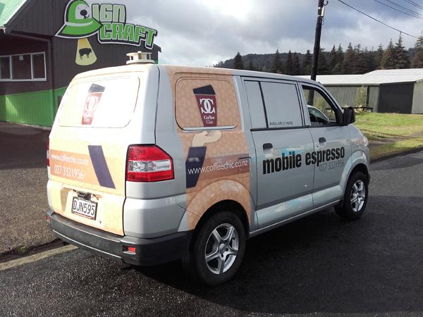 Vehicle Signage Rotorua | Car Wrap Vehicle Signwriting BOP